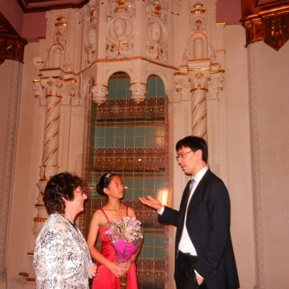 Anne Liu with Greater San Diego Chamber Orchestra